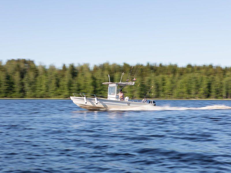 Hyvölän talo kalastusvene