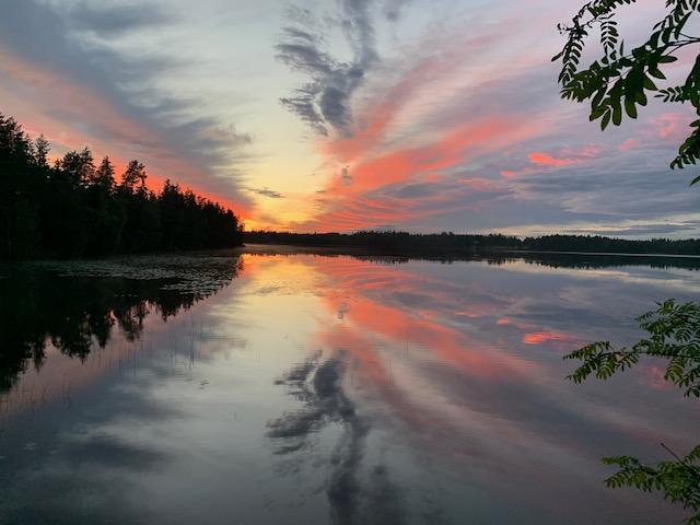 taivas ja järvi