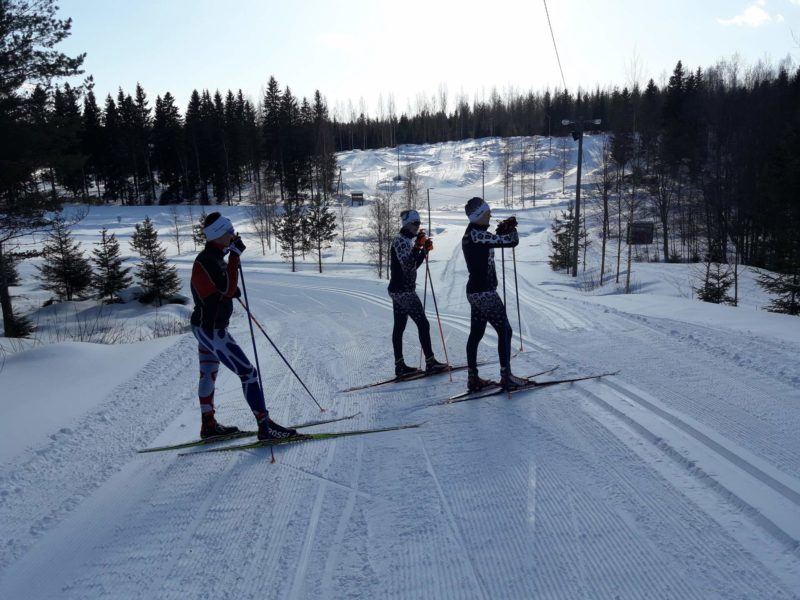 Hiihtoa Ähtärissä.Kuva: Janne Muhonen